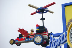 Tflying car in the imagination park in Legoland florida Stock Image