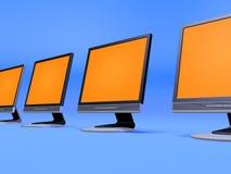 Tft Bildschirmanzeigen Lizenzfreies Stockbild
