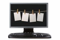 tft för monitir för datortangentbord Royaltyfri Fotografi