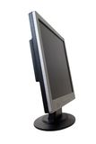 TFT Flat Panel Monitor Royalty Free Stock Photo