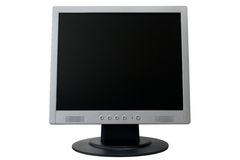 TFT Flat Panel Monitor Royalty Free Stock Image