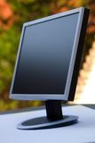 TFT monitor. Flat TFT monitor .Shallow DOF Royalty Free Stock Images