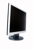 TFT monitor. Isolated over white background Stock Photography