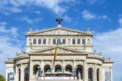 25tg anniversary of German Unity in Frankfurt Stock Images