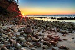 Tg Aru wschód słońca Zdjęcia Stock