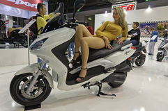TGB XMotion 300i in EICMA 2011 Royalty Free Stock Photo