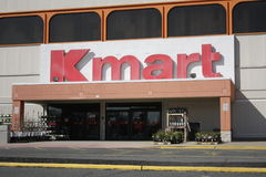 Kmart front door Royalty Free Stock Photography