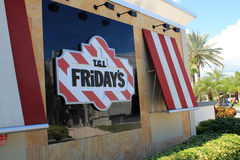 Tgi fridays sign Royalty Free Stock Photos