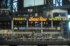 TGIF Front Row at Chase Field Stock Photography