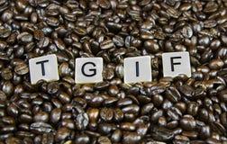 TGIF Stock Images