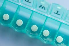 Tägliches Aspirin Stockbilder