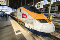 TGV Gare du Nord Royalty Free Stock Photos