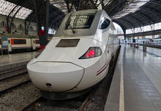 TGV. high speed train Royalty Free Stock Photo