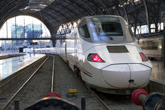 TGV. high speed train Stock Photo
