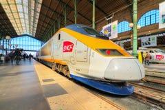 TGV Parigi Fotografie Stock Libere da Diritti