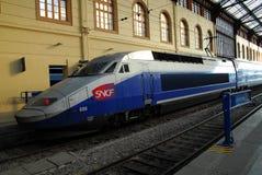 The TGV Train Royalty Free Stock Photo