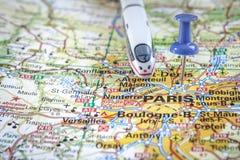 TGV van Parijs - vakantiebestemming Royalty-vrije Stock Foto's