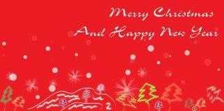 thème abstrait de Noël Photographie stock libre de droits