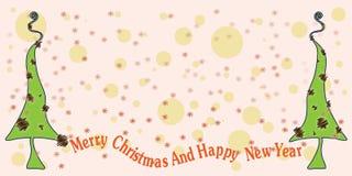 thème abstrait de Noël Photos libres de droits