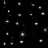 Thème abstrait de nuit Photographie stock libre de droits