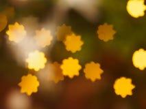 Thème brillant de carte postale du ` s d'étoile Images stock
