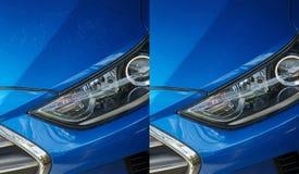 Thème détaillant de voiture photographie stock libre de droits