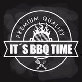 Thème de BBQ et de boucherie Photos libres de droits