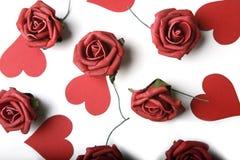 Thème de jour de rue Valentine Image stock