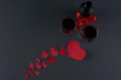 Thème de jour du ` s de Valentine Photographie stock libre de droits