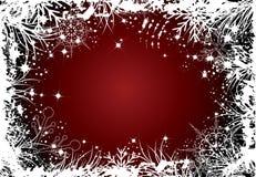 Thème de l'hiver Illustration de Vecteur