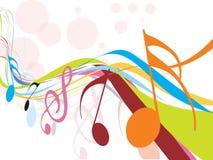 Thème de musique Photo stock