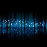 Thème de musique Image libre de droits