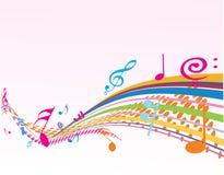 Thème de musique Photos stock