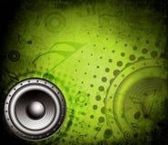Thème de musique Images stock