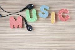 Thème de musique Image stock