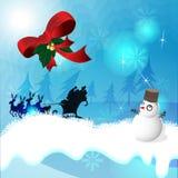 Thème de Noël photographie stock libre de droits
