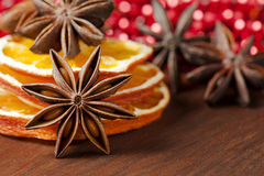 Thème de Noël Images libres de droits
