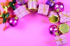 Thème de Noël Photo libre de droits