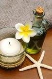 Thème de plage de massage Photo libre de droits