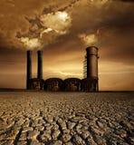 Thème de réchauffement global images stock
