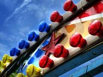 thème de stationnement de couleurs Image libre de droits