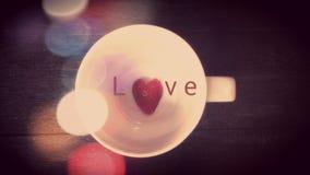 thème de valentine d'amour Images stock