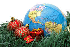 Thème du monde de Noël - Amériques Images libres de droits