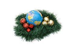 Thème du monde de Noël - Amériques Image libre de droits