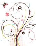 Thème floral Image stock