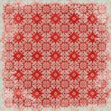Thème floral de Noël de fond de cru Photo libre de droits