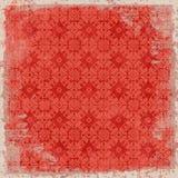 Thème floral de Noël de fond de cru Photo stock