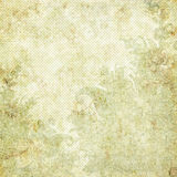 Thème floral de Noël de fond de cru Image stock