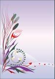 Thème floral de source Photos stock