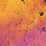 Thème grunge de mur Papier peint avec la surface peinte épaisse Art texturisé de pierre Fond d'imagination Épluchée peinture illustration stock